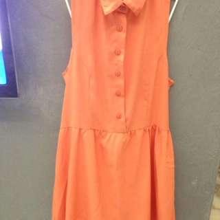 [BN]Peach dress