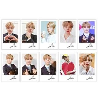 BTS LOMOs Small Cards Photos