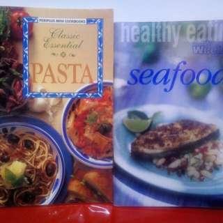 Periplus Mini Cookbook & Healthy Eating Seafood