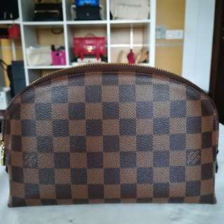 Authentic LV GM size cosmetic pouch