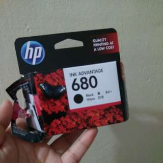 Original hp printer ink cartridge (empty)