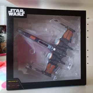 Last piece! Sega Prize Disney Star Wars The Last Jedi T-70 Poe's X-Wing Fighter starwars