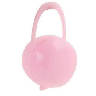 BABY PORTABLE PACIFIER NIPPLE CASE TODDLERS HOLDER SOOTHER BOX PINK