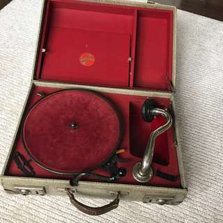 Collectible - vintage Gramophones