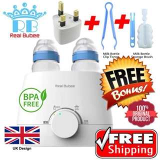 REAL BUBEE WARMER STERILIZER STEAMER pemanas susu breast milk #midjan55