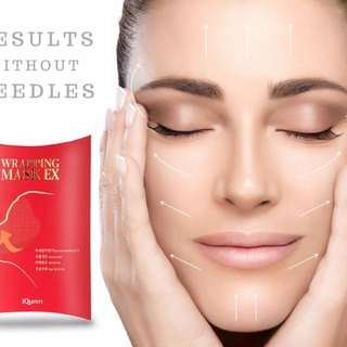 ❤️NOW:$4.95!!! 😀NO MORE LAUGH LINES ✅ANTI WRINKLE ✅ I WHITENING✅PORE-TIGHTENING✅PEELING ✅PURIFYING ❤️ IQueen Wrapping Mask Ex❤️