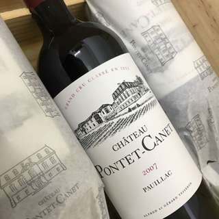 Pontet Canet 2007 法國波爾多紅酒