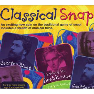 Music Games: Classical Snap!