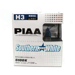 PIAA H-612 H3 4250K Arrow Star White Set of 2