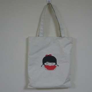 西瓜女孩手提袋 肩背包