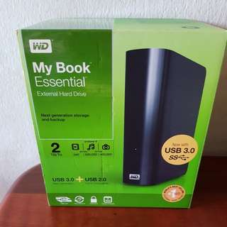 WD My book Essential External Hard Drive