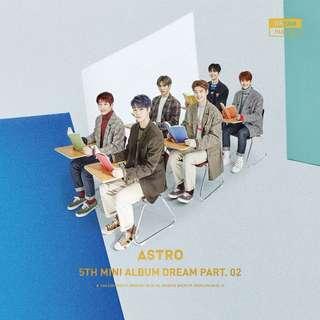 ASTRO 5th mini album 'Dream Part .02'