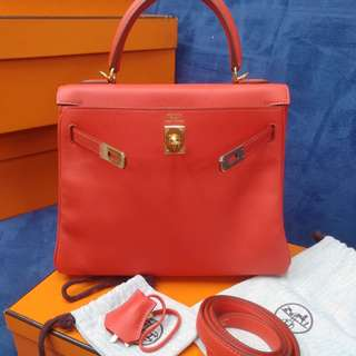 Hermes kelly 25 T stamp