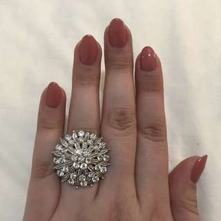 Vintage Swarovski Ring