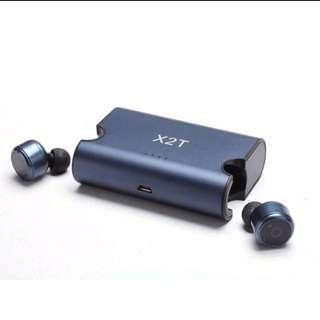 Authentic X2T wireless Bluetooth earbuds