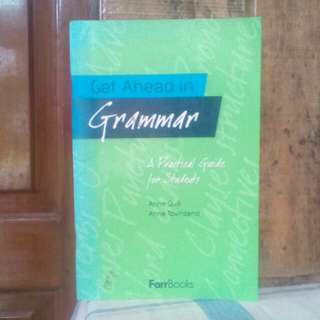 Buku Get Ahead in Grammar , A practical guide for Student