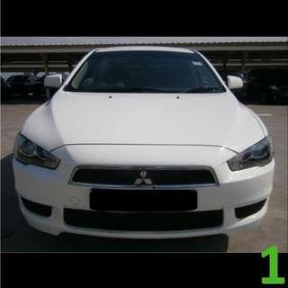 $230 Weekend Car Rental Mitsubishi Lancer EX 1.5A