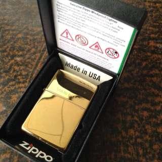 Solid Brass Zippo