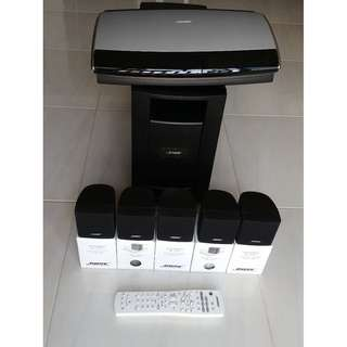 Bose® Lifestyle® 18 DVD Home Entertainment System.