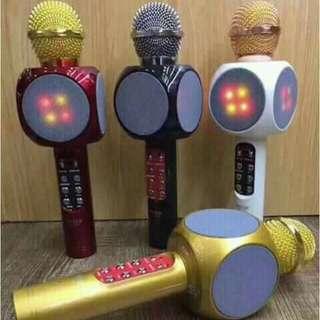 Bluetooth mic with light