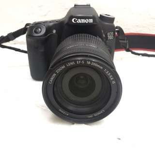 Canon 70d  kit ( EF-s18-200 IS )