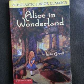 ALICE IN WONDERLAND ENGLISH NOVEL