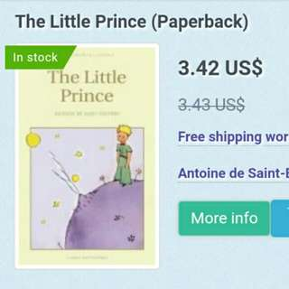 FREE DELIVERY The Little Prince by Antoine de Saint-Exupery
