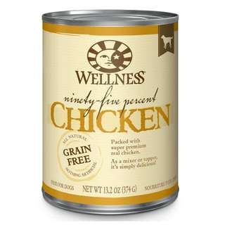 Wellness 95% Dog Canned Food