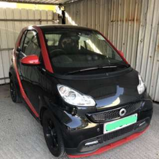 MERCEDES-BENZ Smart Fortwo  Sharp Red Edition