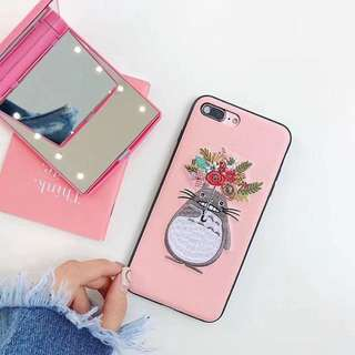 TOTORO LEATHER SOFTCASE CASING CASE IPHONE