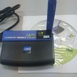 Linksys Wireless-G USB Adaptor