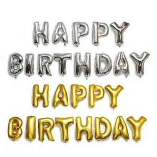 Happy Birthday 🎂 生日氣球 🎈