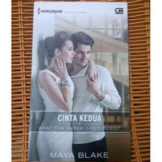 novel cinta kedua ( maya blake )