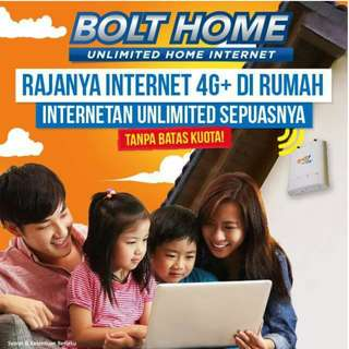 BoltHome Wifi unlimited internet tanpa batas kuota