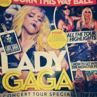 Lady Gaga Born This Way Ball magazine