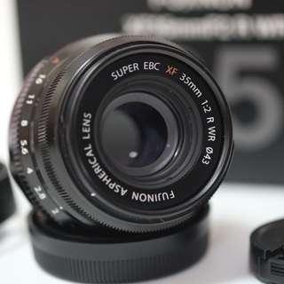 Used Fujifilm XF 35mm / f2 WR