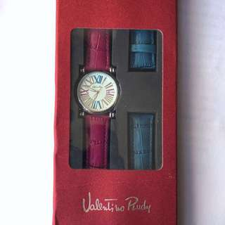 Valentino Ruby watch(雙錶帶)