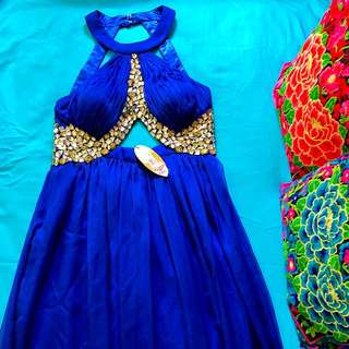 Blue formal gown | Size 14