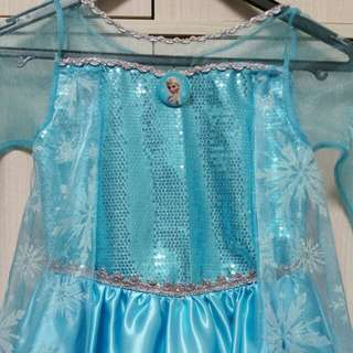 Frozen Elsa Dress ( 7-8 years)