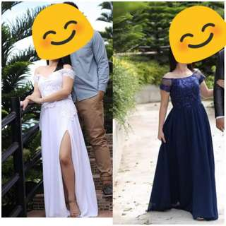 Prenup gown