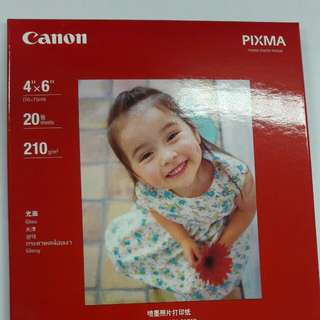全新Canon 噴墨打印機 4R相紙 2本共40張