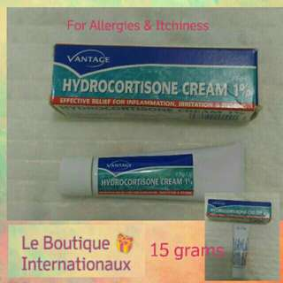 Hydrocortisine Cream 1% 15g