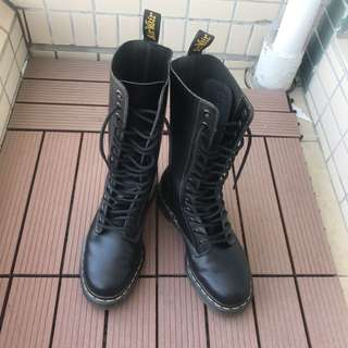 Dr.Martens 14孔黑色靴boots Size:37