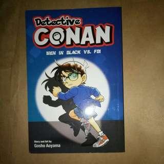 Detective Conan Men in Black vs FBI ng Gosho Aoyama