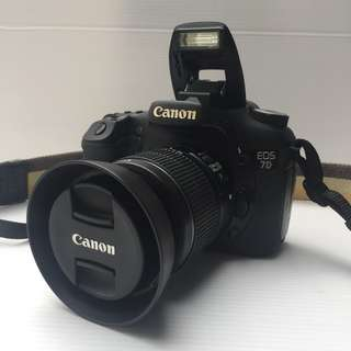 [USED] Canon EOS 7D + Canon 18-55mm Lens Kit, Tip Top Condition