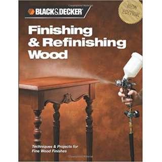 Finishing and refinishing wood