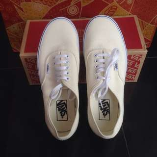 Vans Authentic Parchment True White