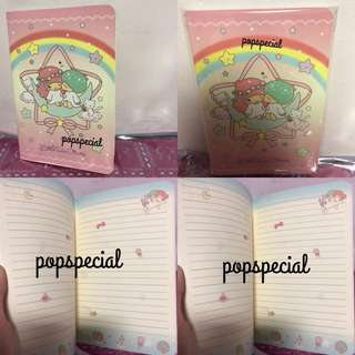 Last PCS Little Twin Stars Full Colored A5 Note Book