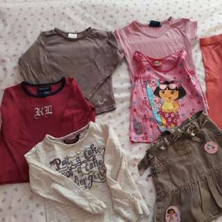 Lot of 2-3y girl