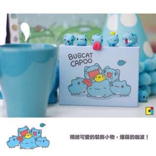 咖波 杯緣子杯緣蟲 台灣 貓貓蟲 Bugcat capoo